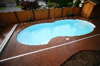 Atlantic Deep Fiberglass Pool
