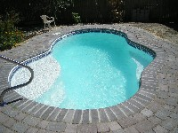Crystal Cove Fiberglass Pool